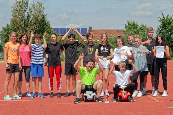 2021 - MS Reisbach - Schulleben - Olympiade 2