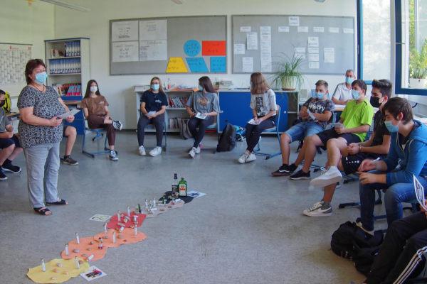 2021 - MS Reisbach - Schulleben - Sensibilisierung für Gefahren
